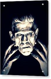 Frankenstein Acrylic Print by Fred Larucci