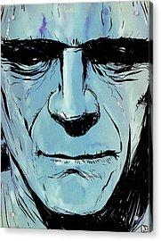 Frankenstein Acrylic Print by Giuseppe Cristiano