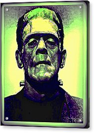 Frankenstein In Color Acrylic Print