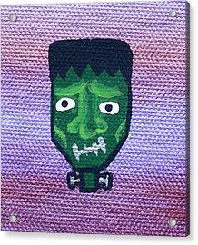 Frankenstein Acrylic Print by Jera Sky