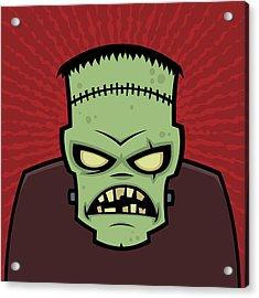 Frankenstein Monster Acrylic Print by John Schwegel