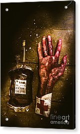 Frankenstein Transplant Experiment Acrylic Print by Jorgo Photography - Wall Art Gallery