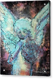 Franklin Angel Acrylic Print