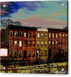 Franklin Ave. Bk Acrylic Print