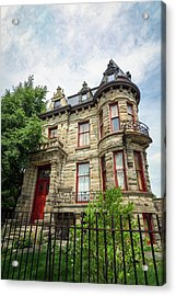 Franklin Castle Acrylic Print by Michael Demagall