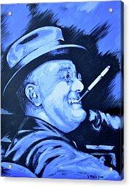 Franklin D. Roosevelt Acrylic Print by Victor Minca