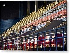 Franklin Field - Empty Stands Acrylic Print