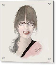 Frannie Acrylic Print