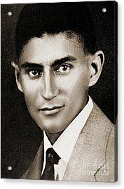 Franz Kafka Acrylic Print