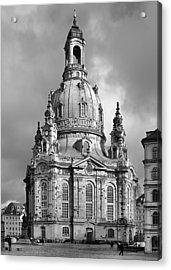 Frauenkirche Dresden - Church Of Our Lady Acrylic Print