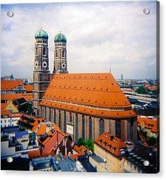 Frauenkirche Munich  Acrylic Print by Kevin Smith