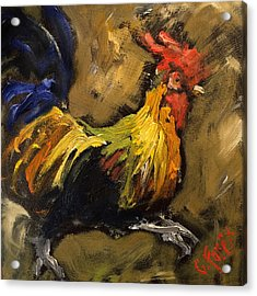 Frazzled Acrylic Print by Carole Foret
