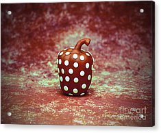 Freckled Bell Pepper Acrylic Print
