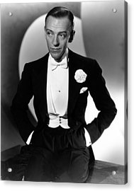 Fred Astaire At The Time Of Roberta Acrylic Print