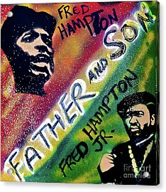 Fred Hampton Father And Son Acrylic Print