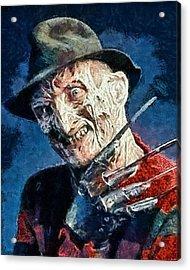 Freddy Kruegar Acrylic Print