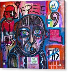 Free Mind Acrylic Print