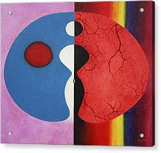Free No Longer Acrylic Print by Gregory John