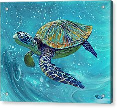 Acrylic Print featuring the painting Free Spirit by Darice Machel McGuire