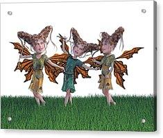 Free Spirit Friends Acrylic Print