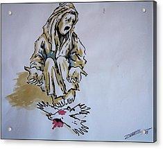 Freedom Dead Acrylic Print by Paulo Zerbato