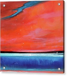 Freedom Journey Acrylic Print by Toni Grote