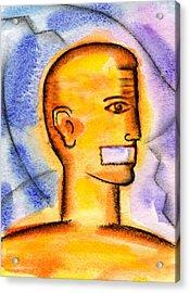 Freedom Of Press  Acrylic Print by Leon Zernitsky