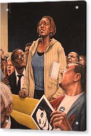 Freedom Of Speech 2010 Acrylic Print