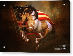 Freedom Run Acrylic Print by Shanina Conway
