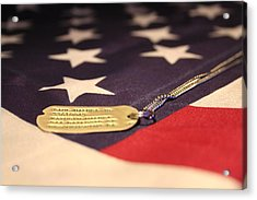 Acrylic Print featuring the photograph Freedom's Price by Laddie Halupa