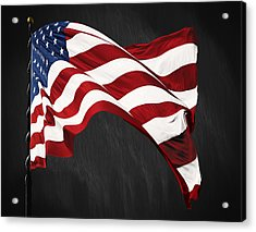 Freedoms Pride Acrylic Print by Steven Michael