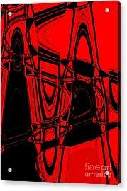 Freeways Acrylic Print by Marsha Heiken