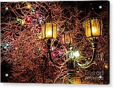 Christmas Lamp Acrylic Print