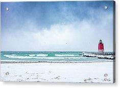 Freezing Storm Acrylic Print
