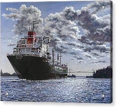 Freighter Inviken Acrylic Print