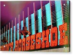Fremont Street Acrylic Print by JAMART Photography