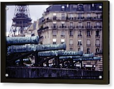 French Canons Acrylic Print by Don Wolf