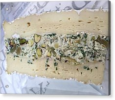French Cheese Acrylic Print by Evan N
