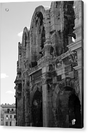 French Colosseum Acrylic Print by Noelle  Kimberley