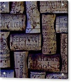 French Corks Acrylic Print by Anthony Jones