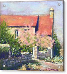 French Cottage Acrylic Print