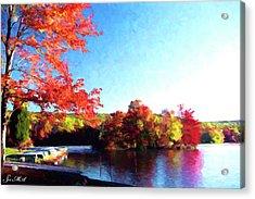 French Creek Fall 020 Acrylic Print by Scott McAllister