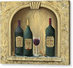 French Estate Wine Collection Acrylic Print