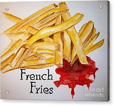 French Fries Acrylic Print