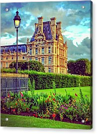 French Garden Acrylic Print
