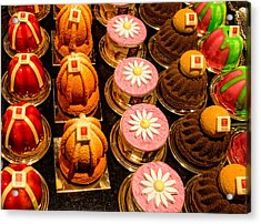 French Pastries In Lyon Acrylic Print