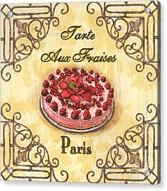 French Pastry 1 Acrylic Print by Debbie DeWitt