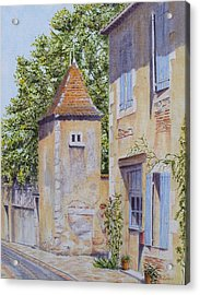 French Pigeonnier Acrylic Print by Frances Evans