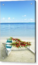 French Polynesia, Huahine Acrylic Print by Kyle Rothenborg - Printscapes