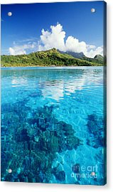 French Polynesia, View Acrylic Print by Joe Carini - Printscapes